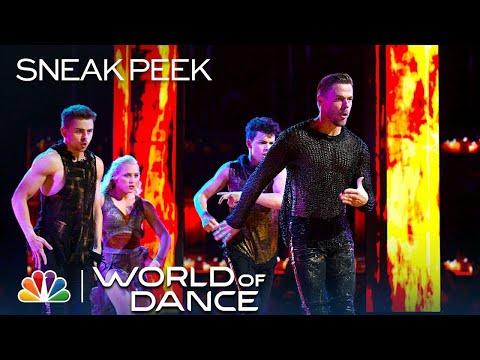 World of Dance 2019 - Michael Dameski, Derek Hough, Charity & Andres