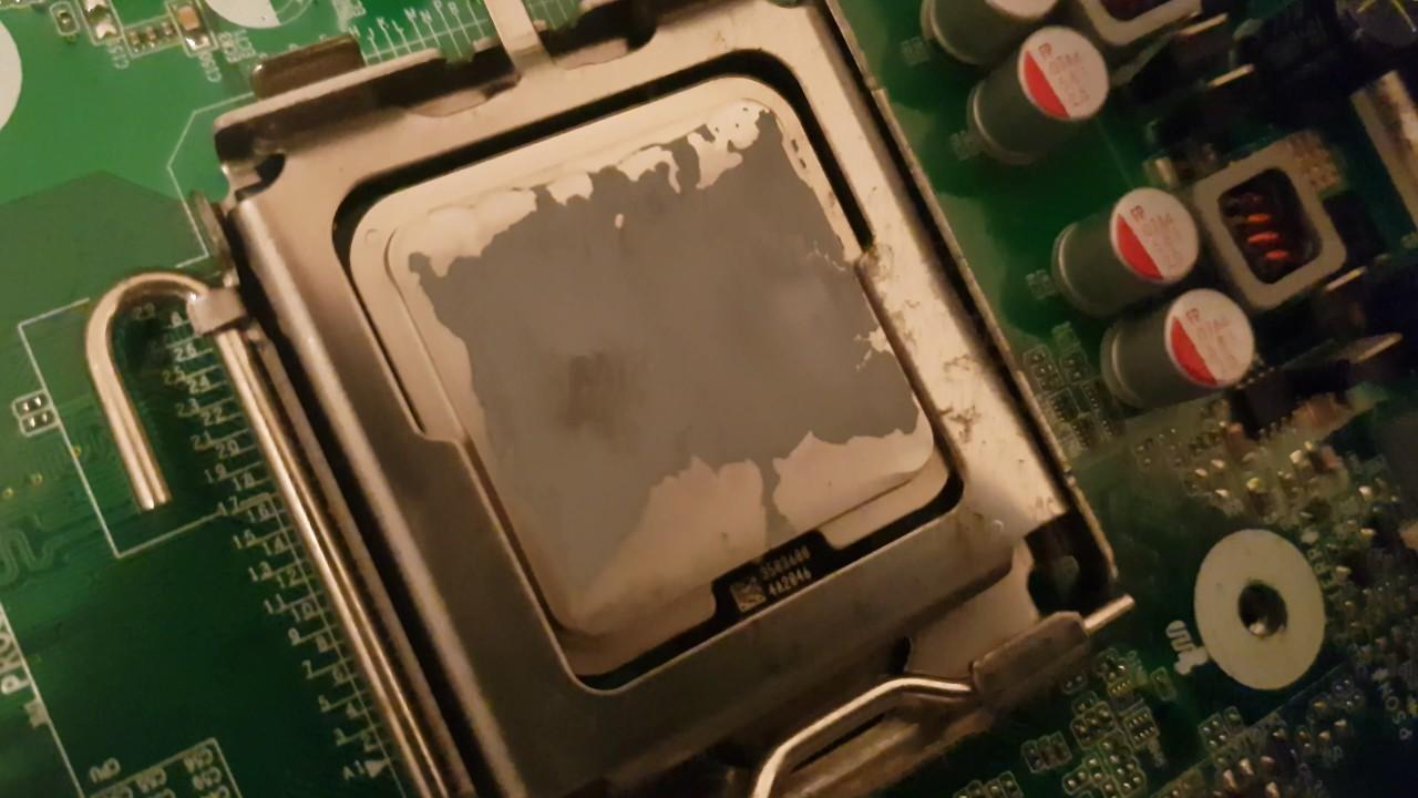 HP Compaq 8000 Elite SSF CPU Update