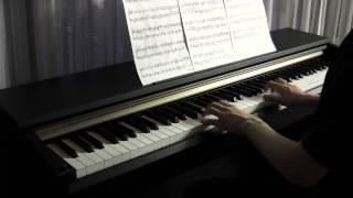 【沢尻エリカ/Kaoru Amane】 タイヨウのうた/taiyounouta 【ピアノ/Piano】