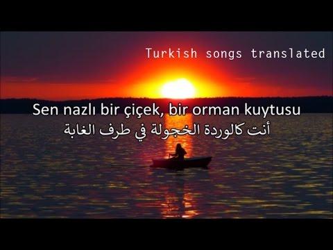 أغنية تركية  روعة مترجمة - Tarkan - Firuze - Arabic Translation