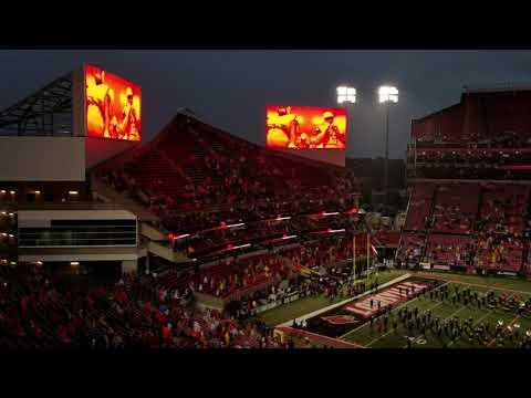 Louisville Cardinals Football Team Intro (vs. Indiana St.)