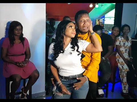 So Funny!See What MC Make Iyabo Ojo Do At Her Party, As She Celebrates 1 year Of her Abula Spot