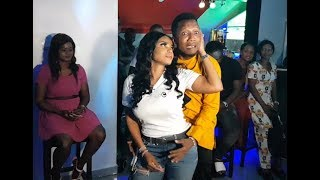 So FunnySee What MC Make Iyabo Ojo Do At Her Party As She Celebrates 1 year Of her Abula Spot