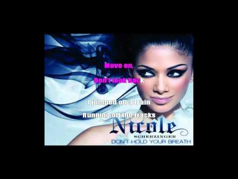 Nicole Scherzinger - Don't Hold Your Breath (Instrumental/Karaoke with on-screen lyrics)