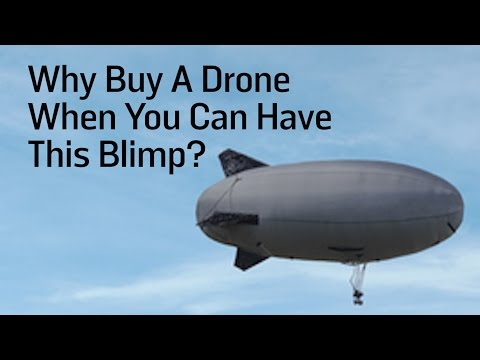 Why Buy A Drone When You Can Have This Blimp?