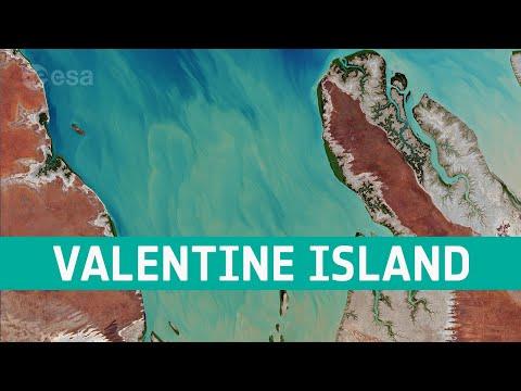 Earth from Space: Valentine Island, Australia