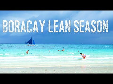 Off-Peak Season in Boracay Beach, the most beautiful beach in the Philippines