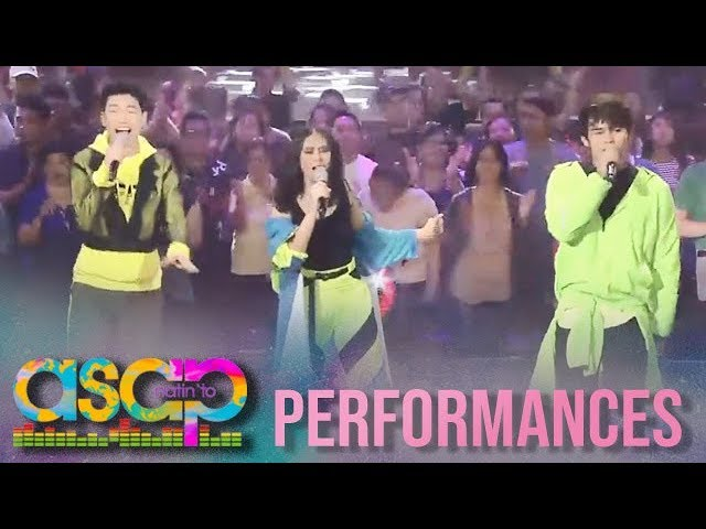 ASAP Natin 'To: Sarah G, Iñigo and Darren's all out song and dance collaboration on ASAP Natin 'To