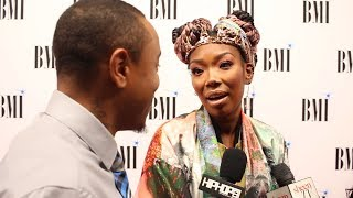 Brandy Talks Having Longevity in Her Career & When She Realized All The Hard Work Was Worth It