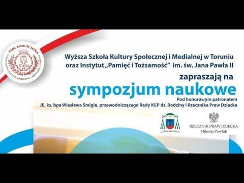 Sympozjum naukowe pt.  Pojednanie w małżeństwie i rodzinie – Mikołaj Pawlak – Rzecznik Praw Dziecka