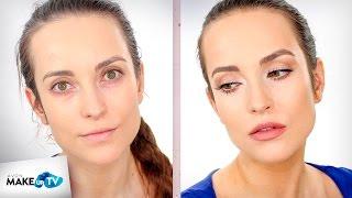 Jak wykonać naturalny makijaż na co dzień (nude makeup) - tutorial Hani
