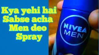 Nivea fresh active original deo spray, full review by review guru india in hindi with tricky cap