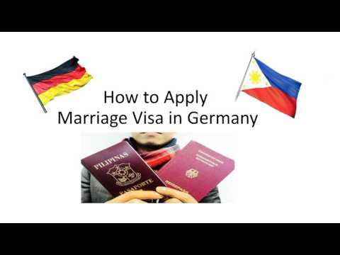 How to Apply Marriage Visa in Germany