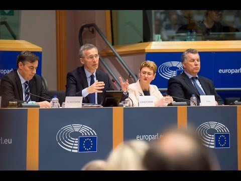 NATO Secretary General at the European Parliament, 03 MAY 2017, Part 2 of 2