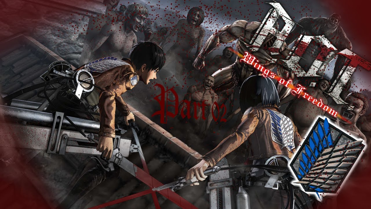 ATTACK ON TITAN WINGS OF FREEDOM GERMAN #02 ...