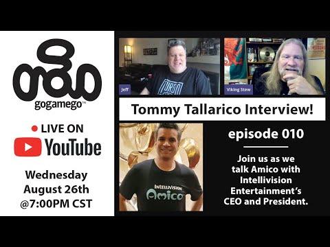 Gogamego Покажи 010 с Tommy Tallarico! Мы говорим обо всем Amico!