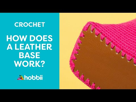 How to Crochet Using a Leather Base