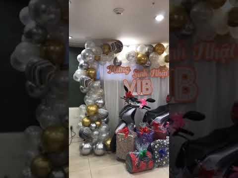 Hướng dẫn trang trí sinh nhật tại nhà cho bé – Vo Ta Anh