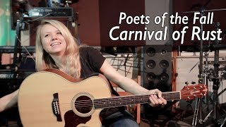Как играть Poets of the Fall - Carnival of Rust | Разбор COrus Guitar Guide #10