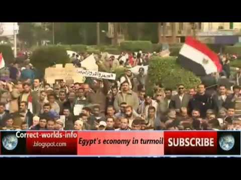 Egypt's economy in turmoil [correct-worlds-info.blogspot.com]
