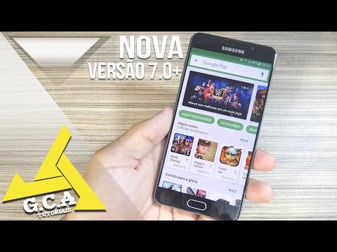 Como atualizar a Google Play Store para a ultima versão 7.0+ (Qualquer Celular) Atualizado ‹2017›