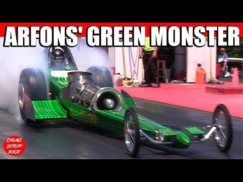 2013 Nostalgia Classsic Jet Car Drag Racing Video