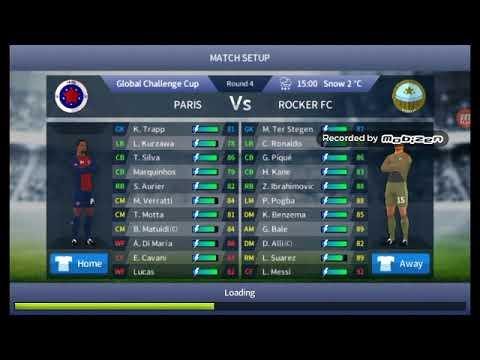 Dream League Soccer Rocker FC vs PSG 8-0 DLS17