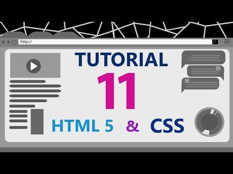 #11 Tutorial HTML & CSS [ROMANA] - Bara De Navigare | Despre Link-uri