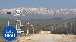 Trump says time to back Israeli sovereignty over Golan heights