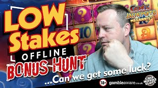 Online Slots - Low Stake Bonus Hunt With Chip