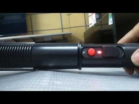 Video test Dùi cui điện 918TYPE. Loại mạnh nhất. Xung điện siêu cao áp cực mạnh lên tới hơn 18.000kV