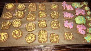 Имбирные пряники, печенье, простой и вкусный лучший видео рецепт, тесто для пряников