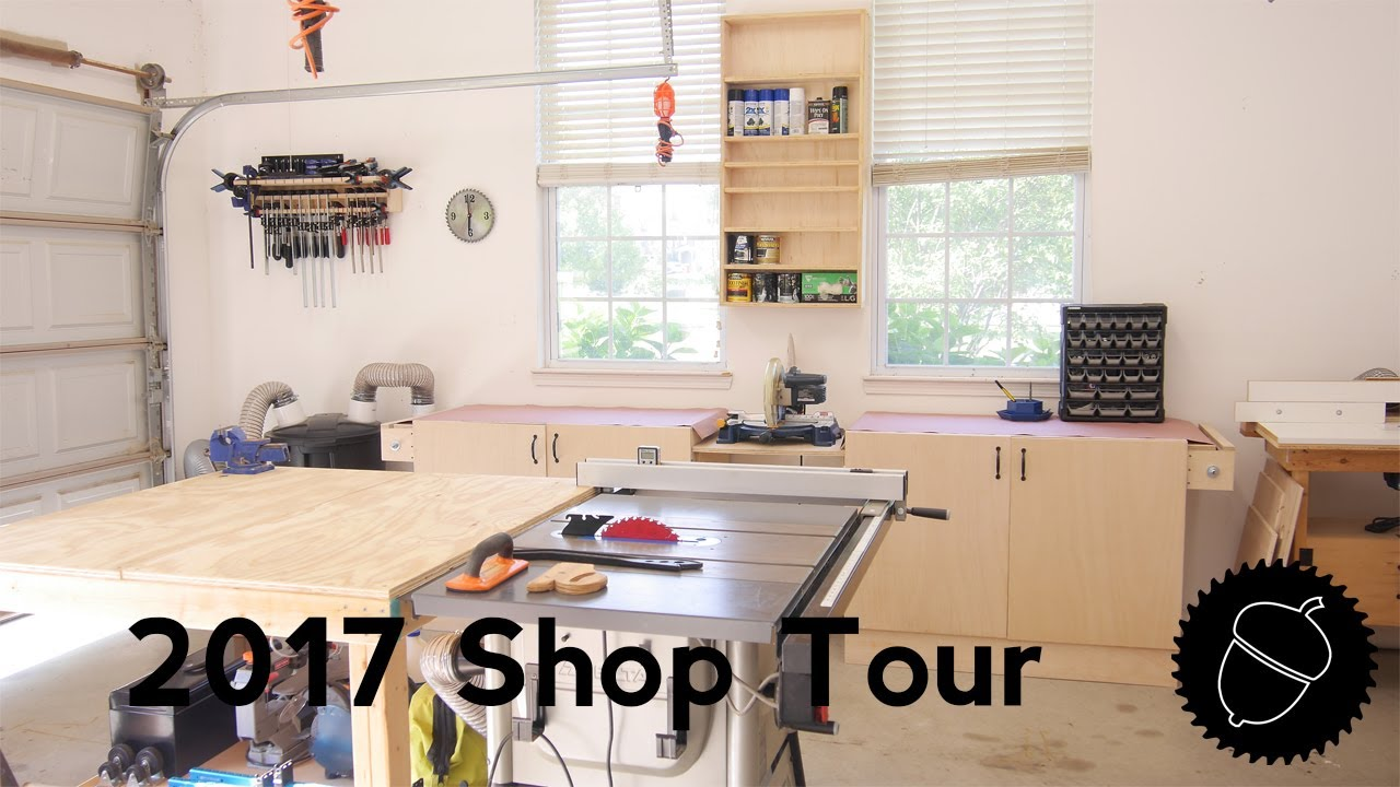 shop tour 2017 my garage woodshop - Garage Woodshop
