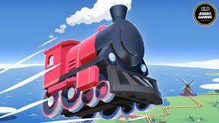 TRAIN CONDUCTOR WORLD | ANDROID GAME KIDS | ELD ANDRO GAMING | MASHA SPONGEBOB SHAUN AND SHEEP TAYO