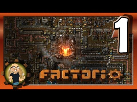 A PERSONAL FAVORITE OF A GAME - Factorio Gameplay E1
