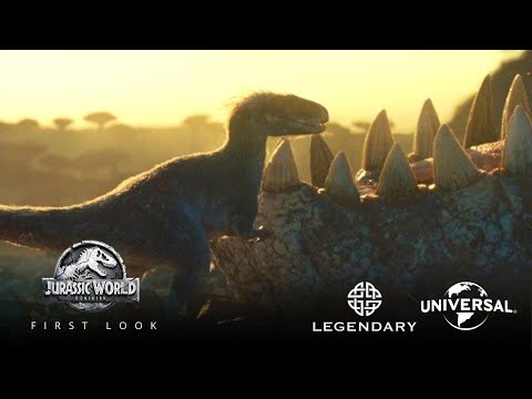 Jurassic World 3: Dominion (2022) FIRST LOOK TRAILER   Universal Pictures