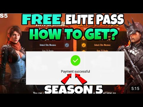 How to get free Elite Royal pass in pubg mobile season 5 GIVEAWAY  #pubg#RP#pubglyf#giveawayLYF
