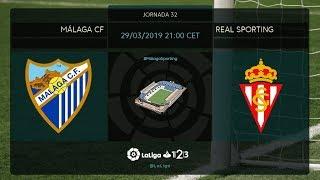 Málaga CF - Real Sporting MD32 V2100