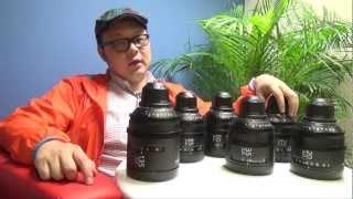 Sony F5 和 F55 的 PL Prime Lens