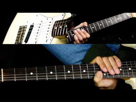 how to play the pink panther on the guitar