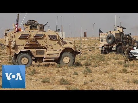 US Troops Seen At Turkey-Syria Border