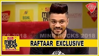 Raftaar End Mind Rocks On A Powerful Note, Talks About His Struggle In Industry | Mind Rocks 2018