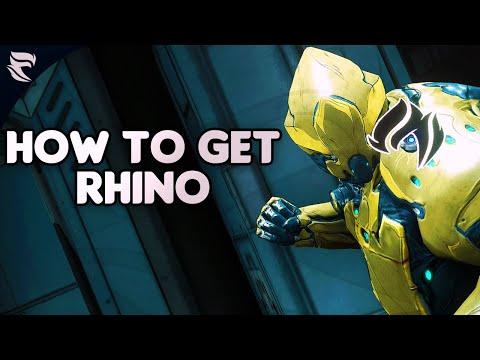 Warframe: How To Get Rhino 2019