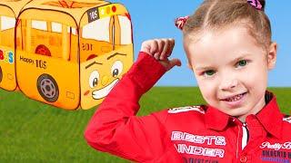 The Wheels on the Bus #2   Nicole Nursery Rhymes & Kids Songs