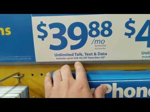 Celulares MUITO BARATOS nos Estados Unidos - Walmart USA