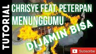 Tutorial melodi menunggumu-Chrisye feat.Peterpan | Belajar melodi pemula di jamin bisa