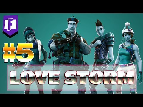 FORTNITE : GAMEPLAY ~ Love Storm ~ #5 In Your Ears [Rescue The Survivors]