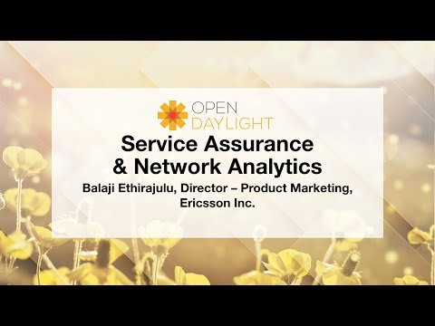 OpenDaylight Mini-Summit: Service Assurance & Analytics, A Catalyst for NFV & SDN Transformation