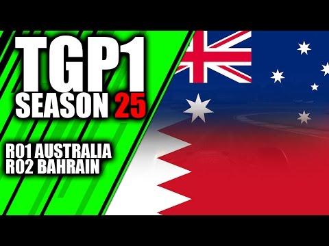 TGP1 | Australia & Bahrain | Season 25 | F1 2016