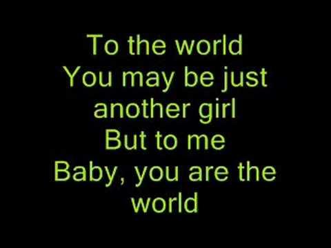 The World~Brad Paisley ( with lyrics )